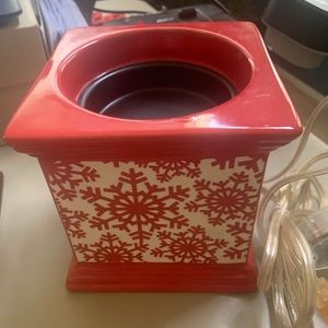 Gold Canyon SnowflakeWax Oil Warmer with Timer NEW
